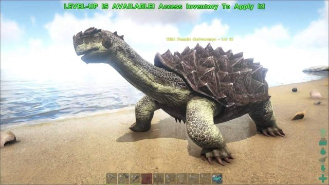 ARK: Survival Evolved - How to Kill a Carbonemys Early Game