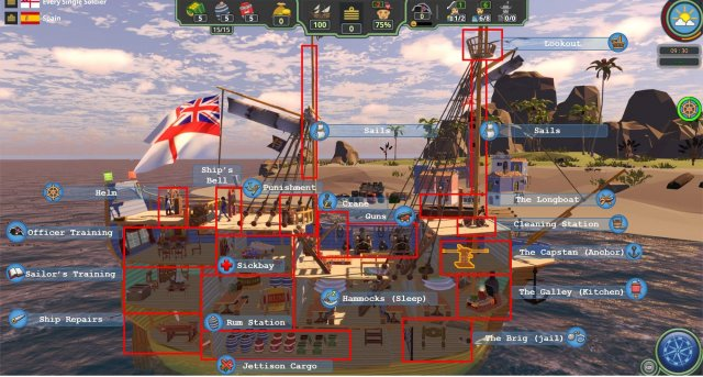 Her Majesty's Ship - Gameplay Tips