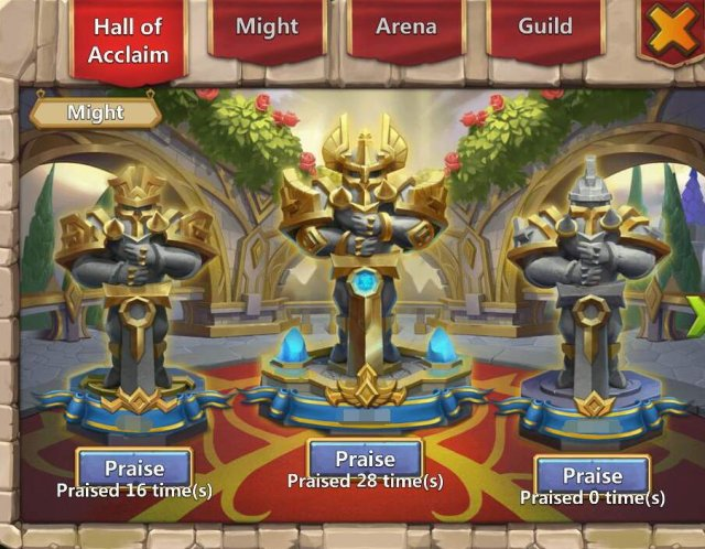 Castle Clash - Hall of Acclaim Guide