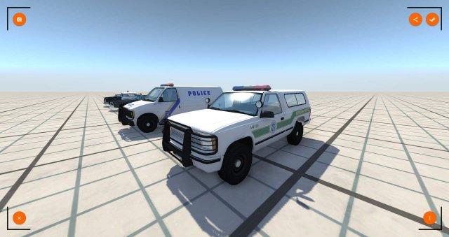 BeamNG.drive - All Police Cars List