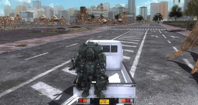 Earth Defense Force 5 - Vehicles Guide