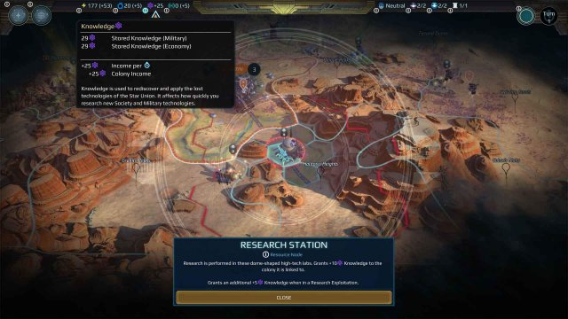 Age of Wonders: Planetfall - Console & Controller UI