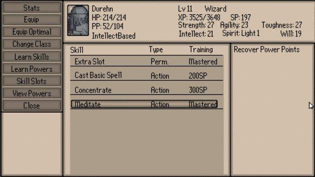 Tactics V: Obsidian Brigade - Skill Slot Guide
