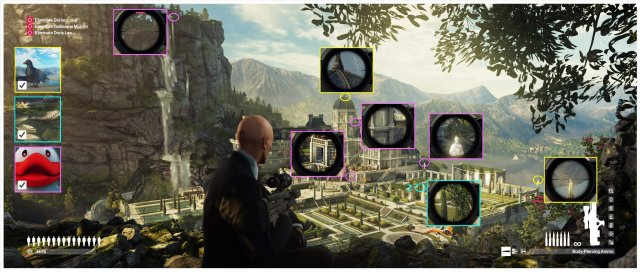HITMAN 2 - Himmelstein Feats Locations