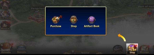 ROTK The Legend of CaoCao - Shop Guide