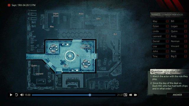 Unheard - Lethal Script DLC 100%