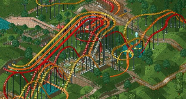 RollerCoaster Tycoon: Deluxe - Guide to Building Parks