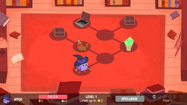 Dicey Dungeons - Witch Walkthrough / Shocks & Spears