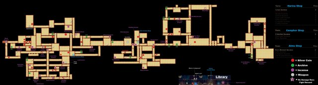 Minoria - Complete Map with All Collectable Item Locations