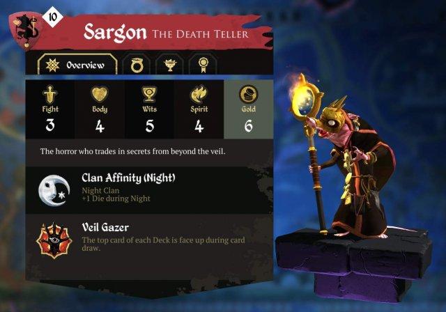 Armello - Sargon Character Guide (The Death Smeller)