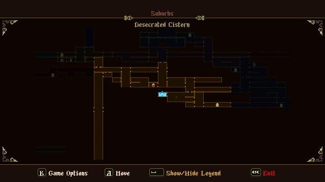 Blasphemous - Roman Numeral Room Guide (Puzzle)