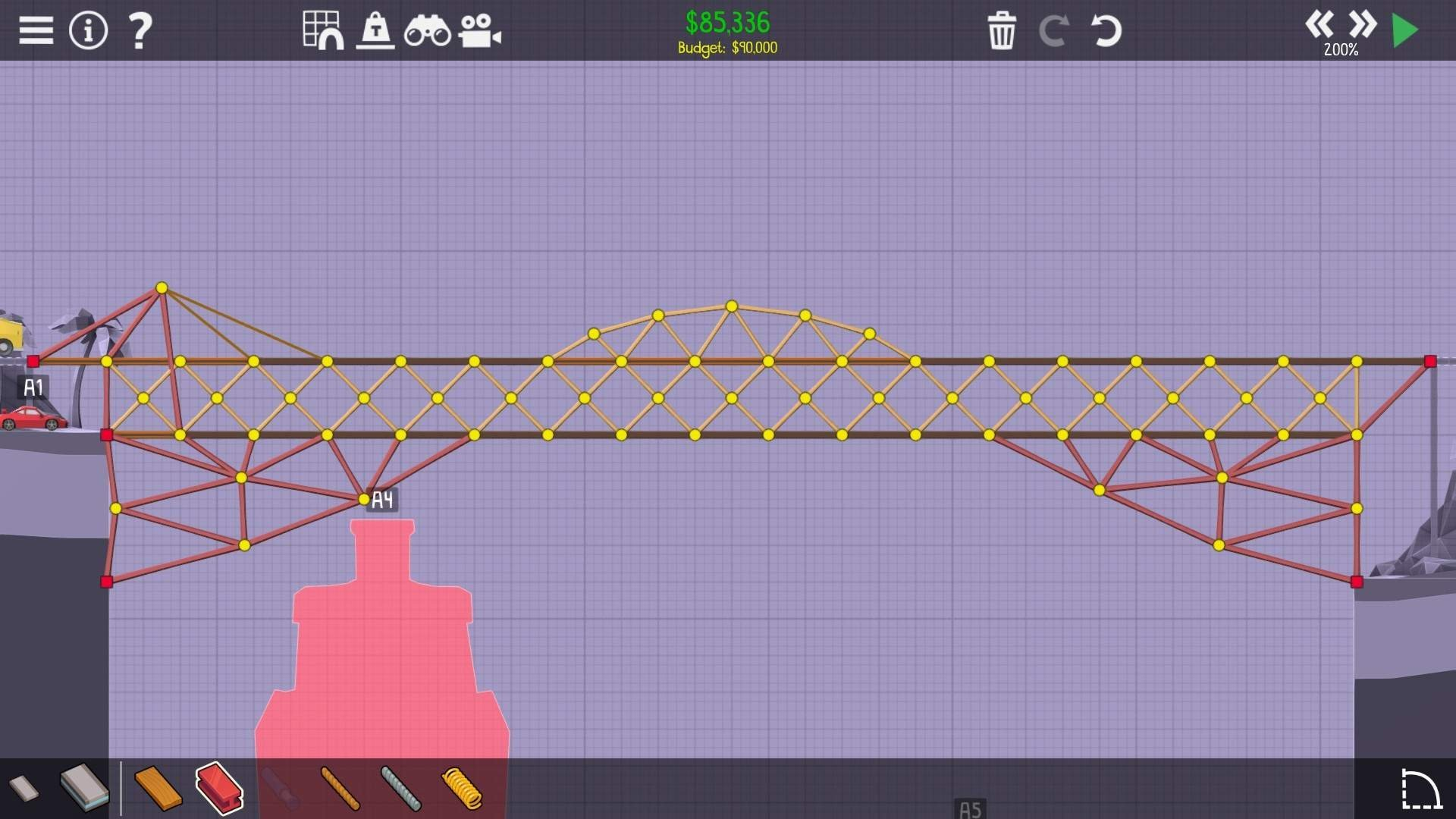Poly Bridge 2 - All Challenges Solutions for Pine ...