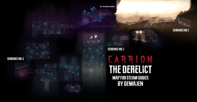 Carrion Maps Of All Areas